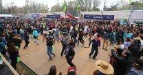 ¡Con lluvia y todo! Así se disfrutaron las Fiestas Patrias en la Semana de la Chilenidad