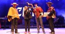 Cami puso el broche de oro en Gala de Inauguración en el Parque Padre Hurtado